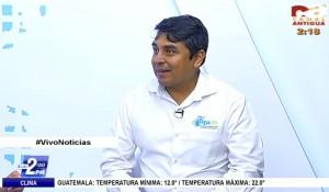 Entrevista Marco Morales PhD en Canal Antigua, Gua Marzo 2016